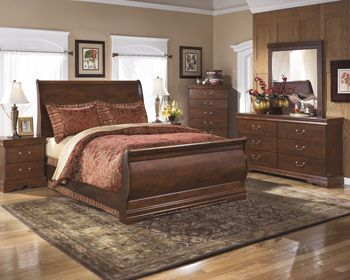 High Quality Ashley B178 Bedroom Set Dresser, Mirror, Headboard, Footboard, Rails,  Nightstand,