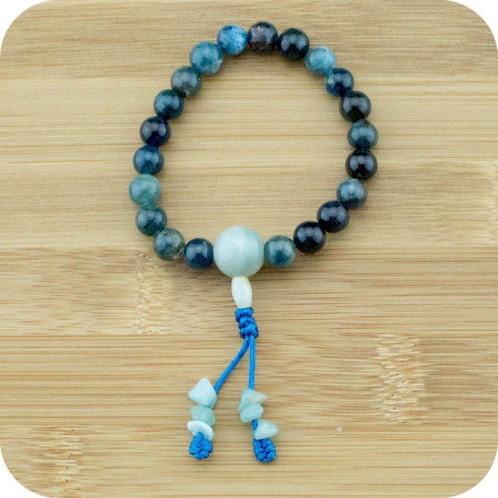 Apae Buddhist Mala Bracelet With Jadeite