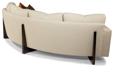 Clip Curved Sofa Back View From Thayer Coggin Contemporary Sofas