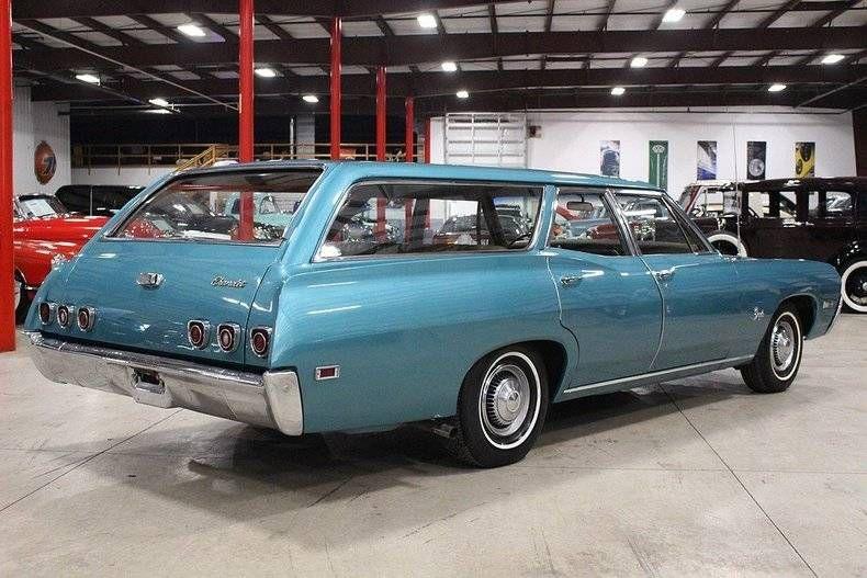 1968 Chevrolet Impala station wagon   Station wagon cars ...