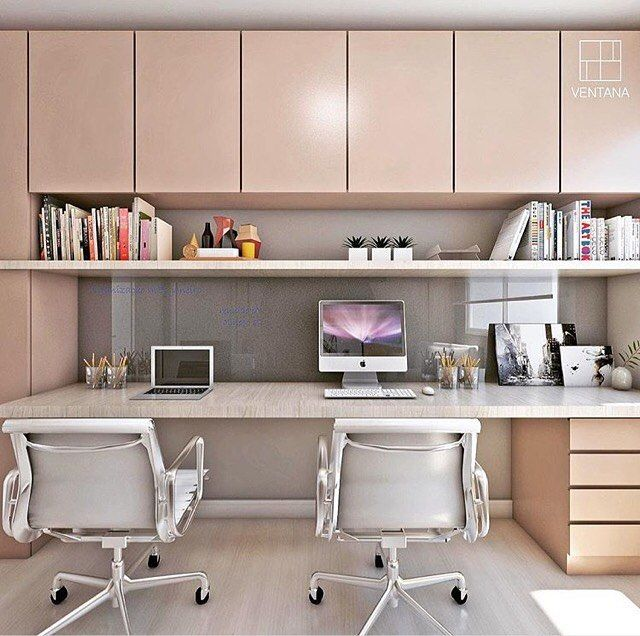 Study Room With Aquarium: Home Office Que Encanta! 😍 ⠀ Autori