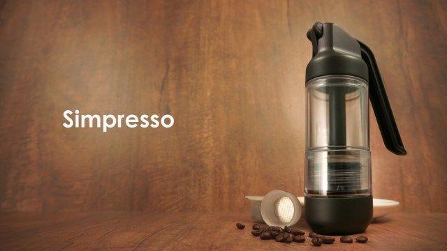 Simpresso – Une machine à espresso portable