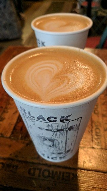Coffee Shop Review Black Brick Brooklyn Black Brick
