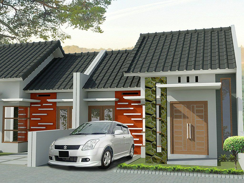 Rumah Minimalis Type 36 Sederhana Lensa Rumah Pinterest