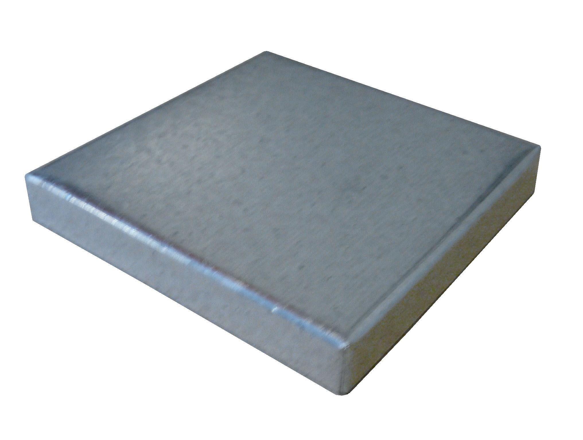 Low Profile Galvanized Post Caps Post Cap Galvanized Zinc Coating