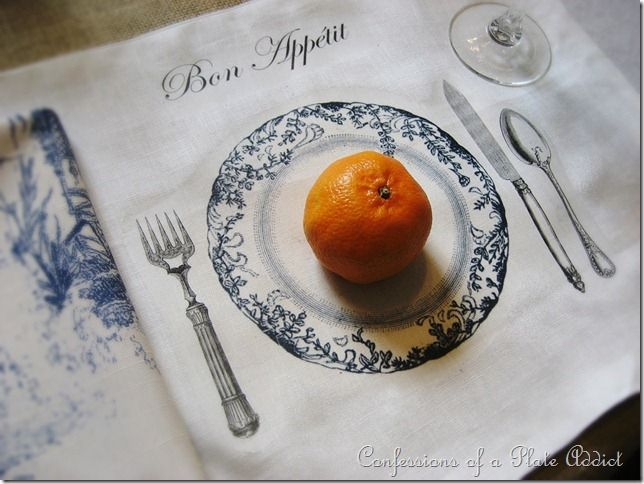 Diy Frenchy Tablescape Placemat No Plates No Problem Placemats Diy French Country Decorating