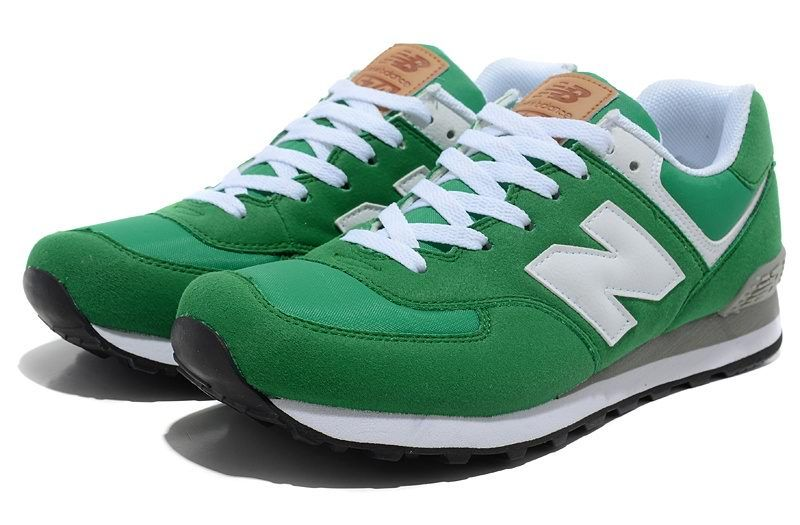 new balance nb 574 five rings series white green for men shoes
