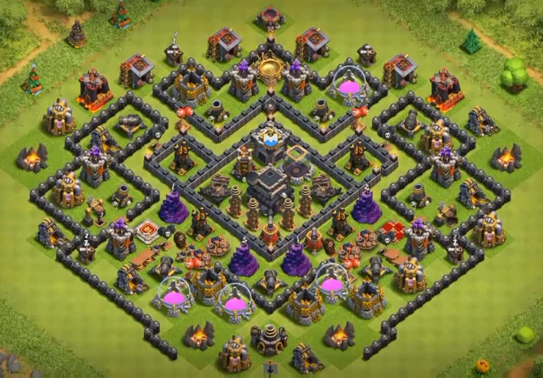 Base Farming Th Base Th 9 Terkuat 2019 6