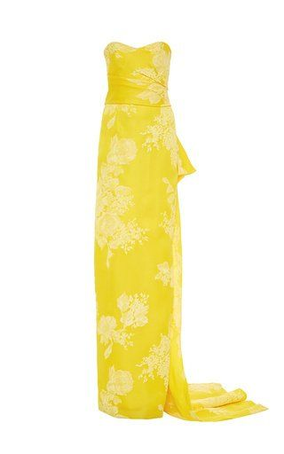 Strapless Column Gown by Monique Lhuillier for Preorder on Moda Operandi...do the Raychell Honolulu