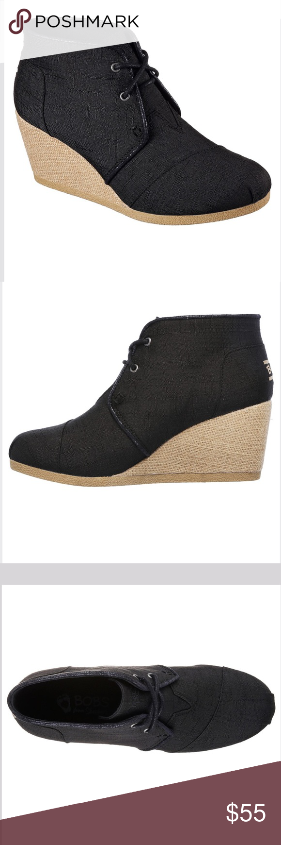 Bob's High Note Wedge Heels Put a lift on your gorgeous