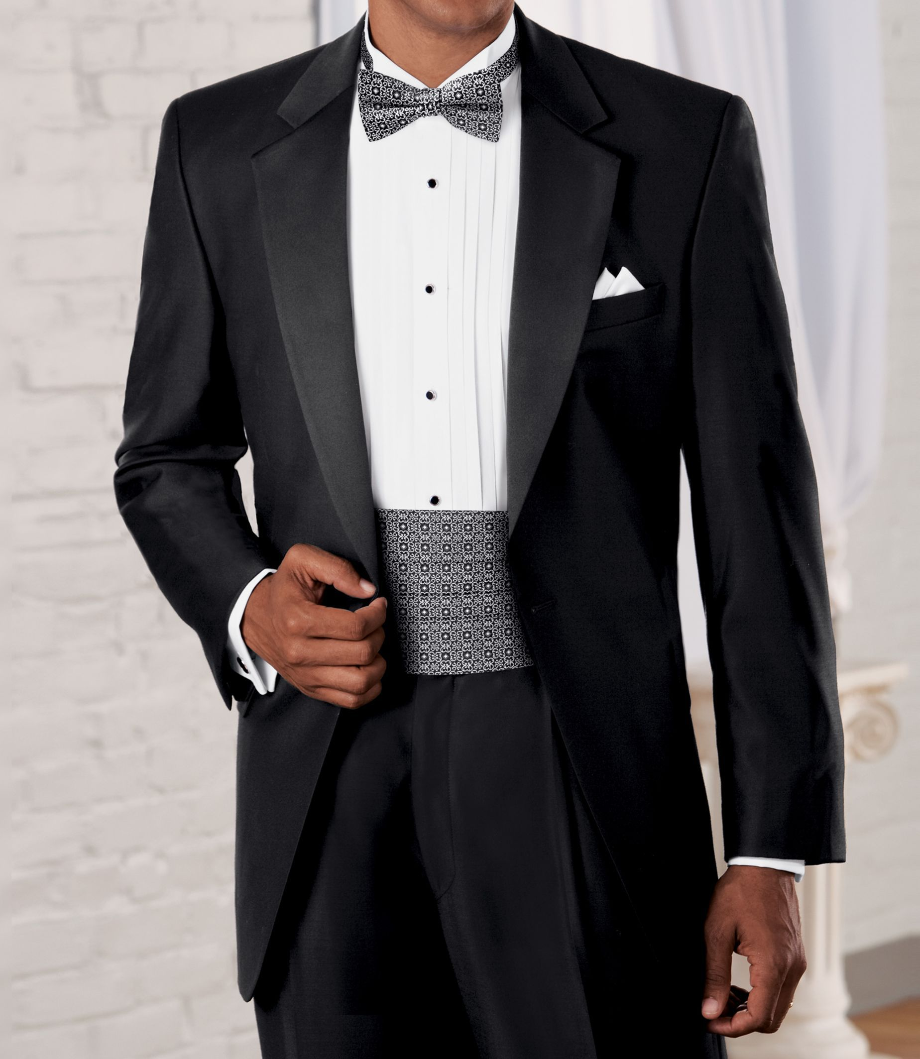 Signature Collection Traditional Fit Tuxedo - Big   Tall  989a86817