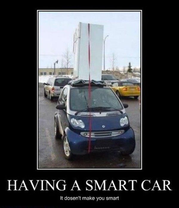 Lol Gotta Love Smart Car People
