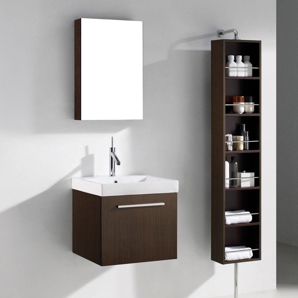 "Arezzo 20"" Modern Single Sink Bathroom Vanity by Madeli ..."