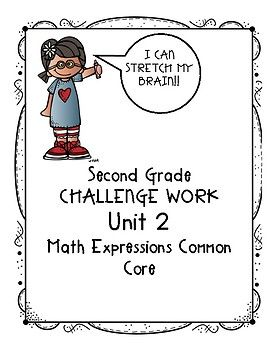 Does your second grade class use Houghton Mifflin Math Expressions Common  Core? Do some of