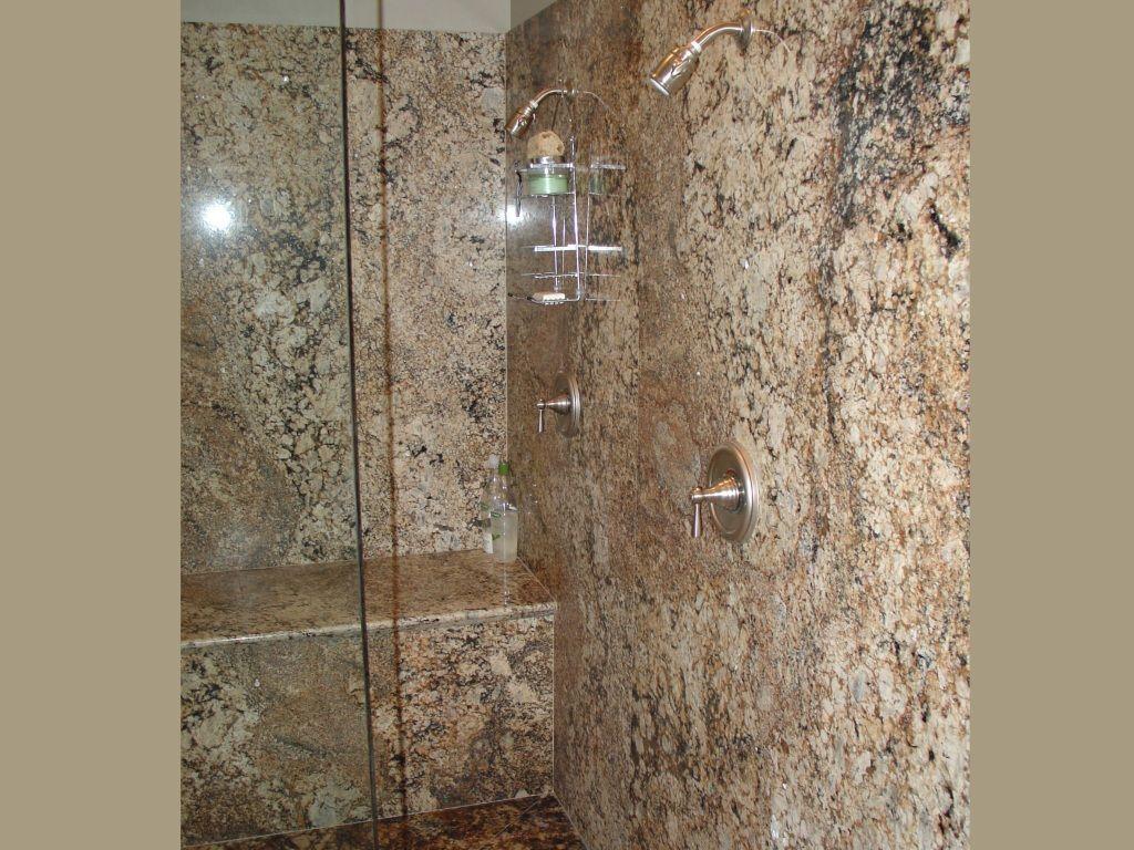 Granite Shower Or Tile For Master