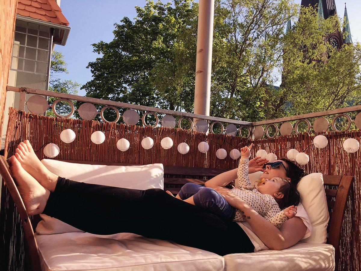 Balkon renovieren - Urlaub auf Balkonien