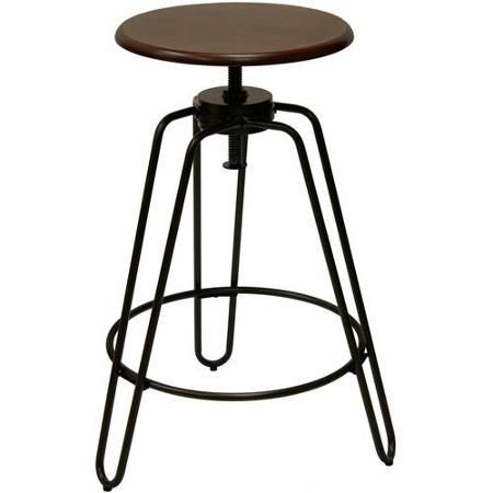 Better Homes And Gardens Adjustableheight Spin Stool  Walmart Glamorous Walmart Kitchen Stools Design Decoration