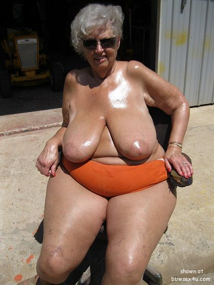 Chubby mature older juggs nice