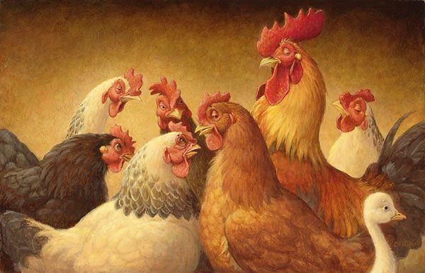 Birds of a Feather Flock Together - Scott Gustafson