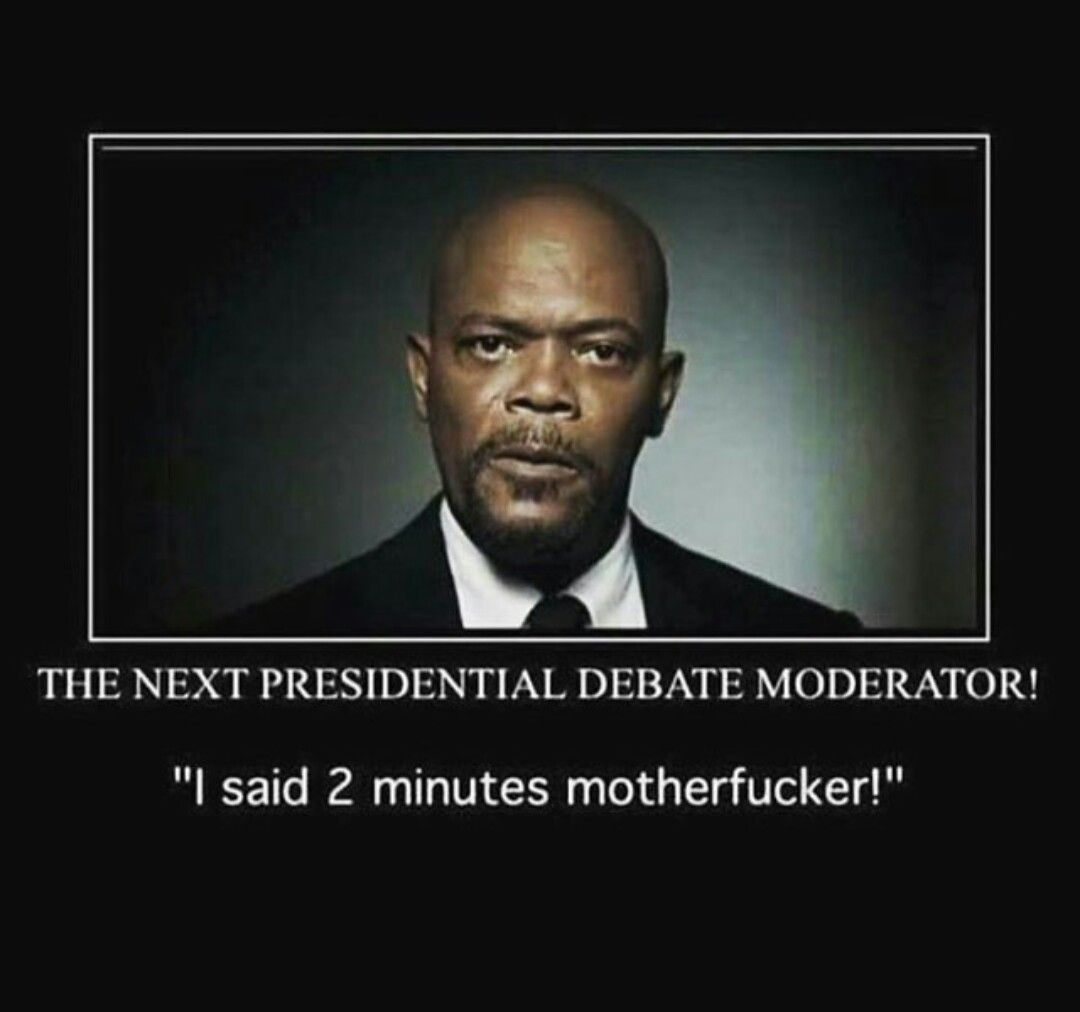 The only way the debates could have been more entertaining samuel l jackson as the moderator