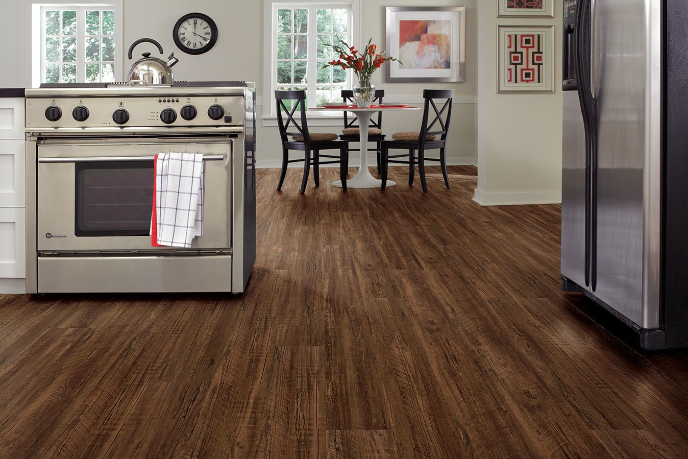 "US Floors COREtec PLUS 7"" Kingswood Oak Flooring trends"