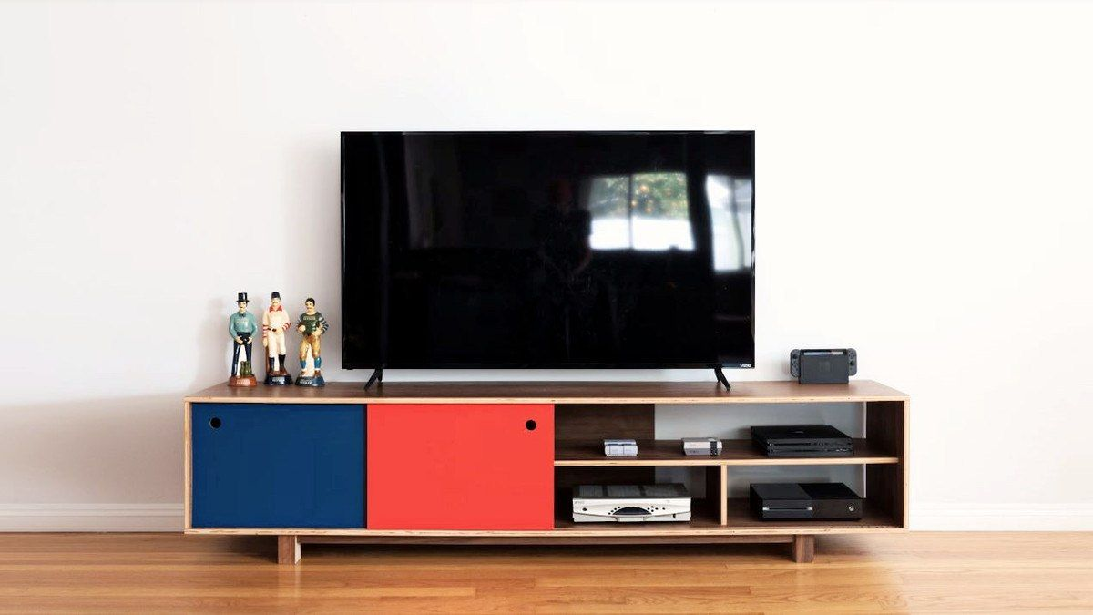 Iy Mid Century Modern Tv Stand Diy Tv Stand Plans In 2019