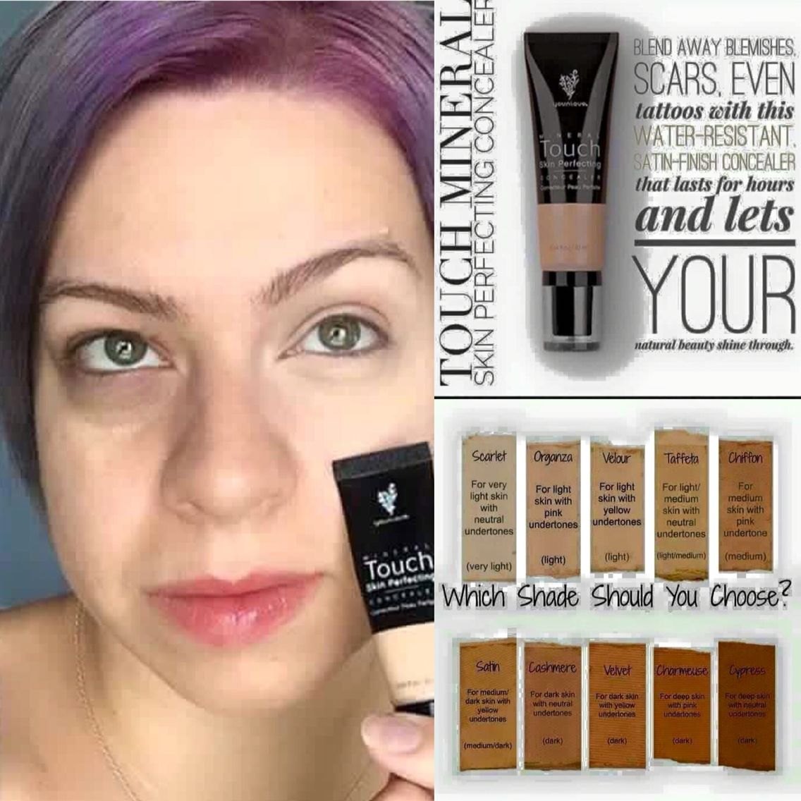Dark circles ?... Don't worry Younique has you covered www