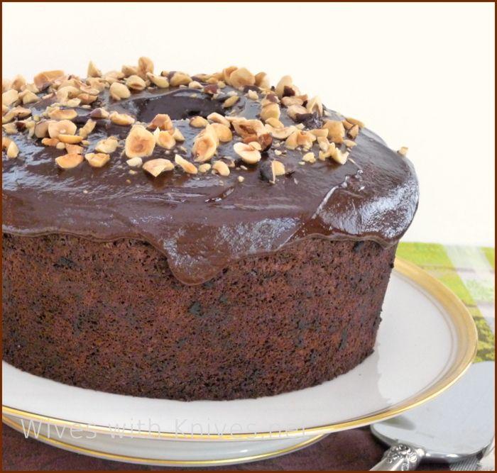 Chocolate Chiffon Cake   Recipe   Chocolate chiffon cake ...