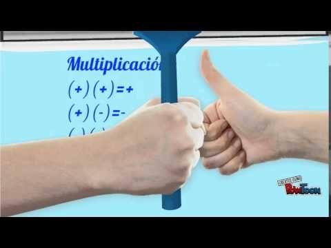 Multiplicacion Y Division De Numeros Enteros Numeros Enteros Multiplicacion División