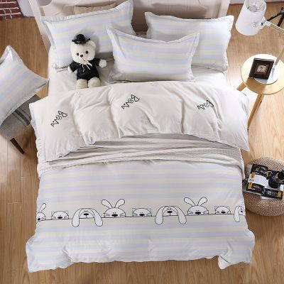 Solid color white Cotton Oriental Embroidery White Color Hotel