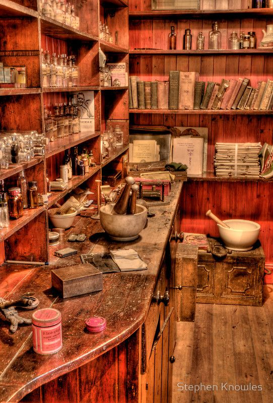 'The Medicine Room' by Stephen Knowles