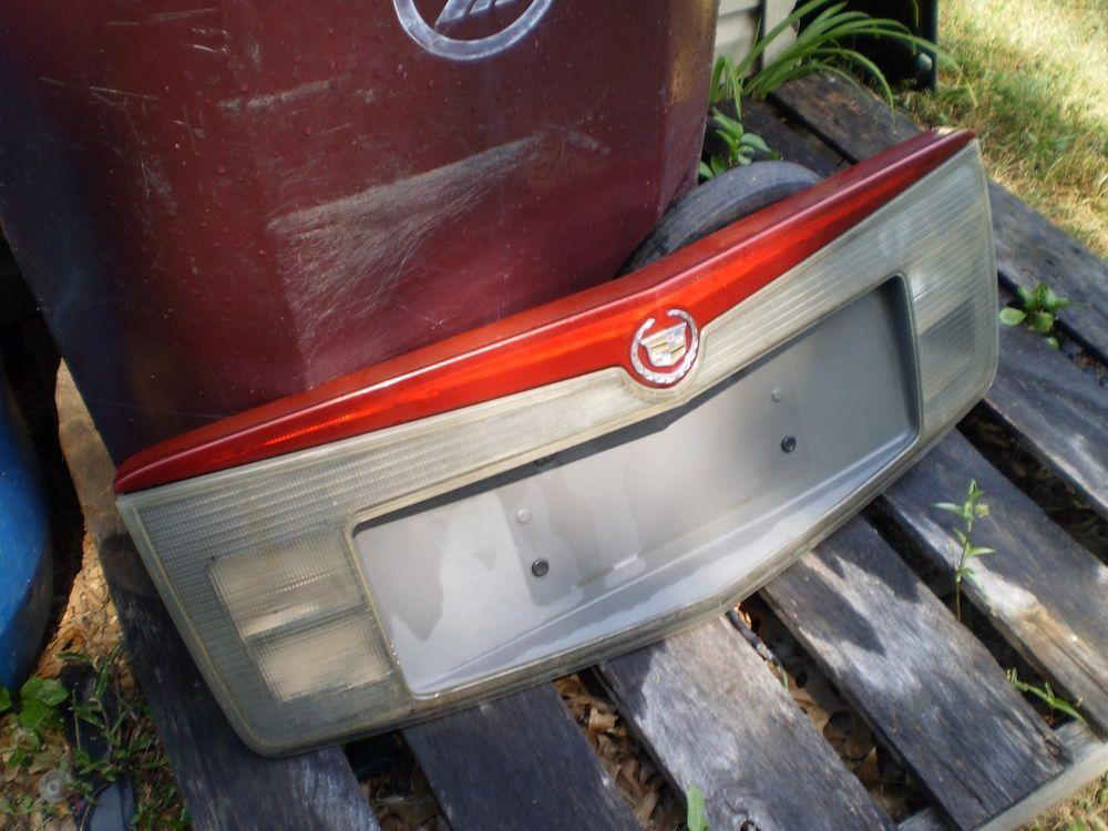 Cadillac Cts Trunk Finish License Plate Panel Reverse Third Brake Light 2003 07 Cadillacctstrunkfinishlicenseplatepanelreve