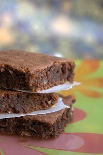 el gato goloso: Brownies de papa sin gluten