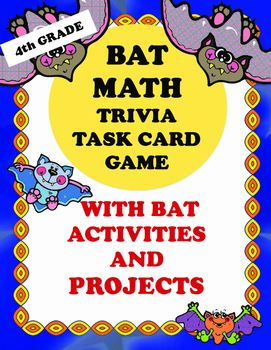 Bat Math And Activities Is A Great Integrated Resource For The Fall Season Or As An Addition To Research Project