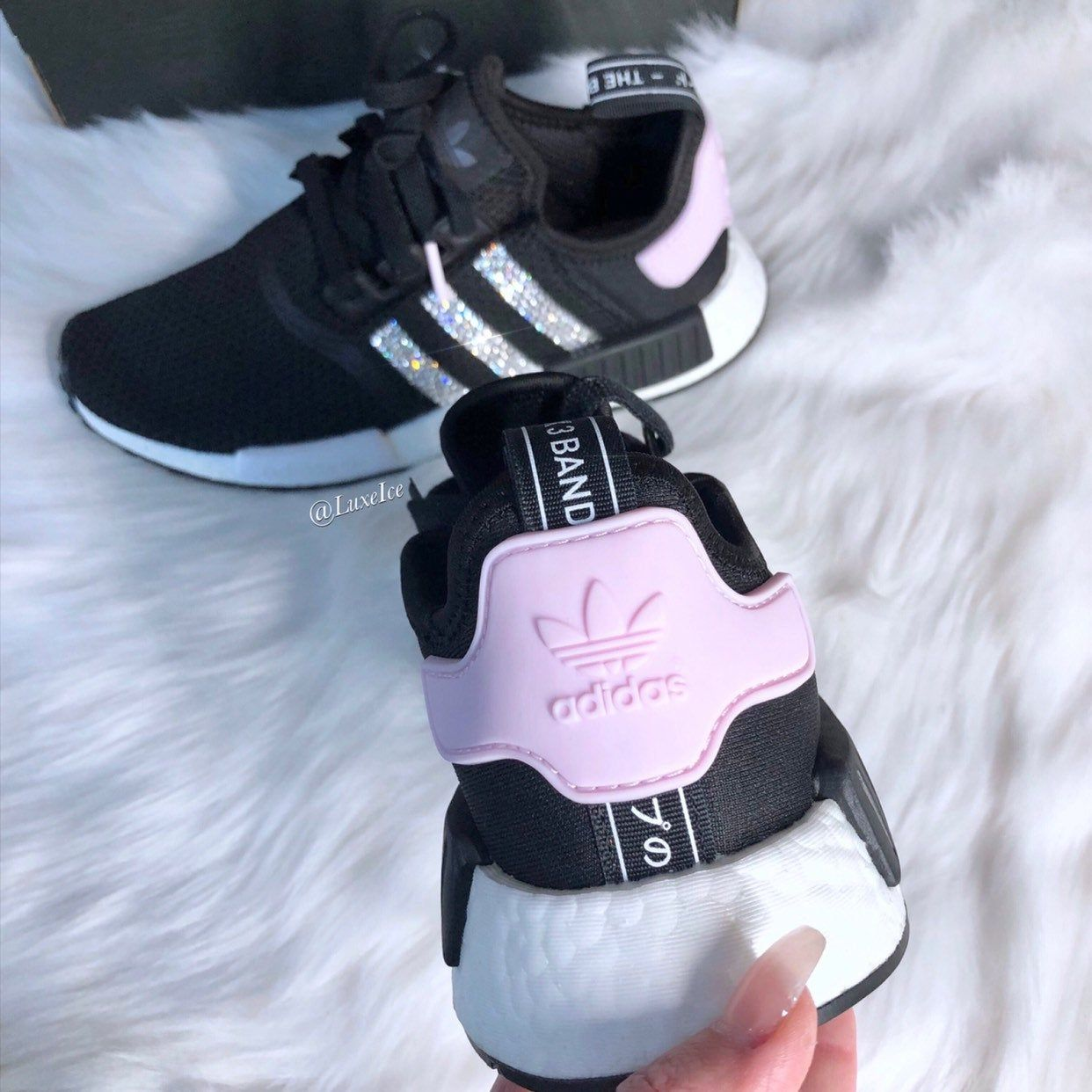 Shopping Adidas Nmd Black White Clear Pink