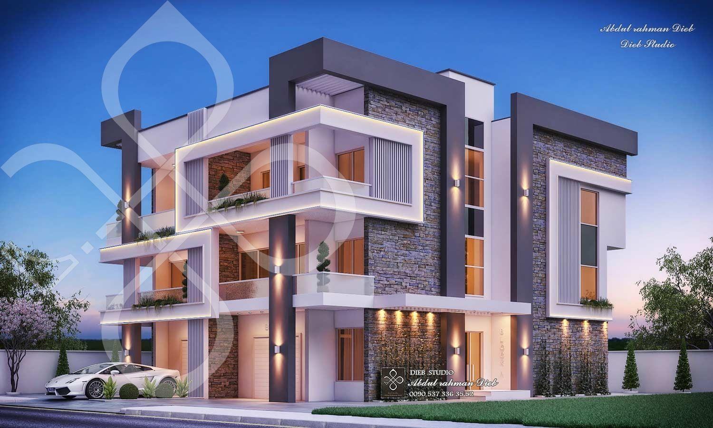Modern Residential Building Lebanon • DIEBSTUDIO