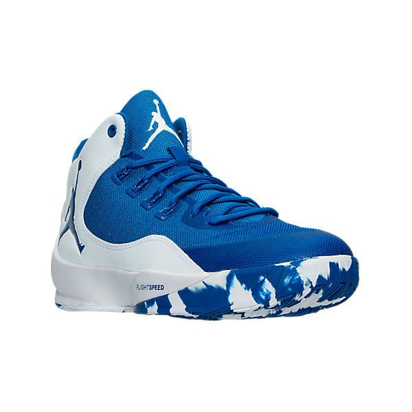 bb097f5fd65b Nike Men s Air Jordan Rising High 2 TB Basketball Shoes ( 110) ❤ liked on Polyvore  featuring men s fashion
