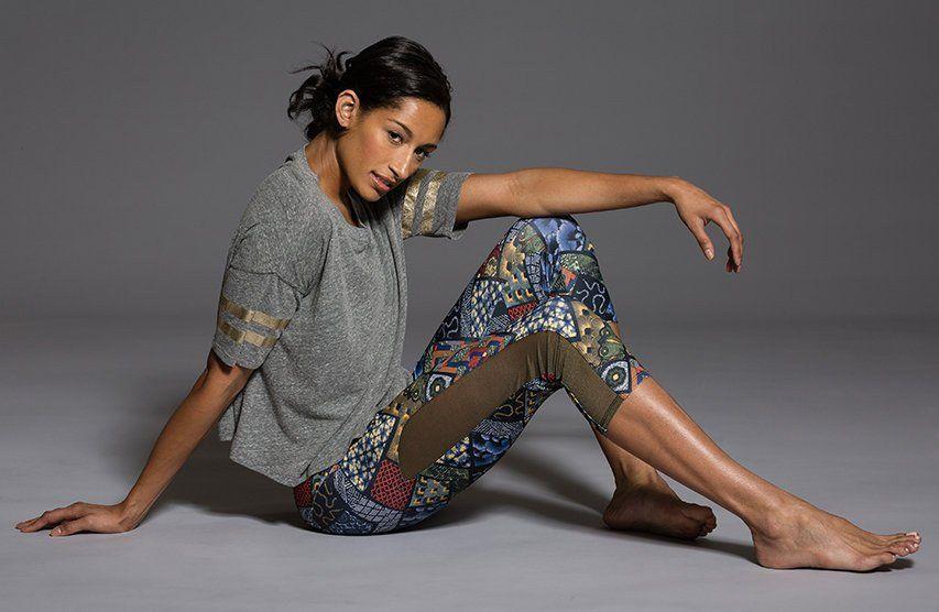 ONZIE Varsity T - Heather Grey/Gold