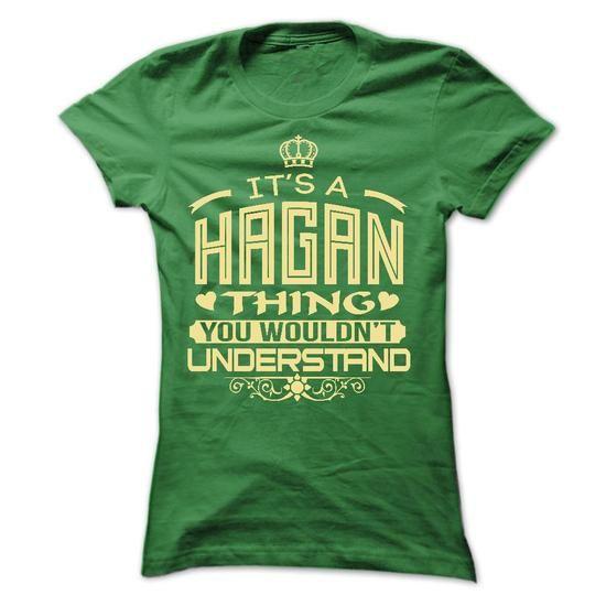 IT IS HAGAN THING AWESOME SHIRT - #tee ideas #tshirt yarn. TRY => https://www.sunfrog.com/LifeStyle/IT-IS-HAGAN-THING-AWESOME-SHIRT-Ladies.html?68278