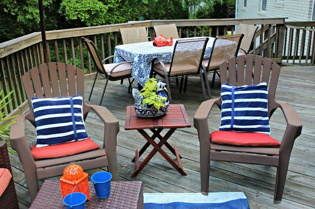 southern state of mind: Our Back Porch is (finally) Ready for Summer