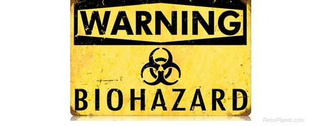 photograph relating to Biohazard Sign Printable called Pix For \u003e Biohazard Symptoms Printable Decals_Vienna Symptoms
