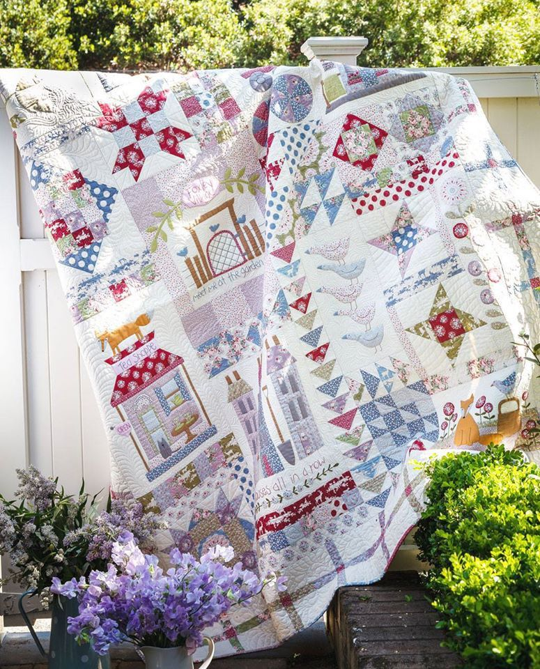 TILDA Foxley Village Quilt Kit - available now from motifbyhand ... : village quilts - Adamdwight.com