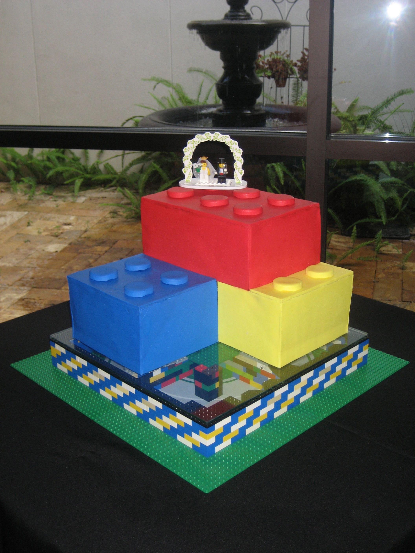 Lego Grooms Cake Grooms Cakes Pinterest Grooms Cake And - Crazy cake designs lego grooms cake design