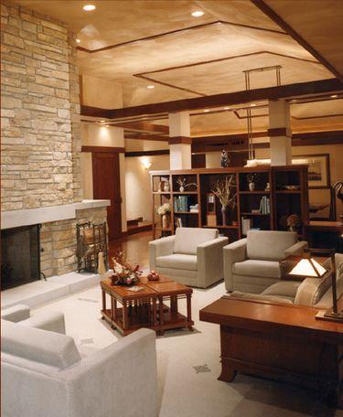 PrairieMod June 2006 Prairie style interior Praire