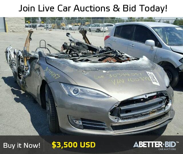 Tesla Salvage For Sale