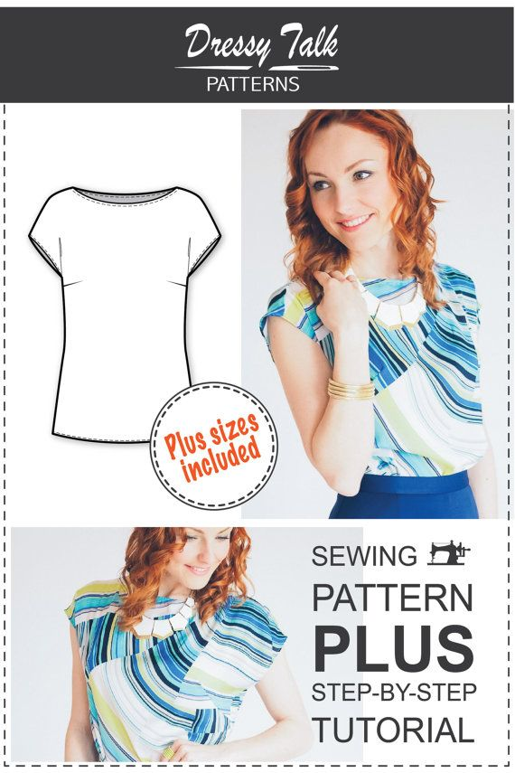 Blouse Patterns Easy Sewing Projects by DressyTalkPatterns ...
