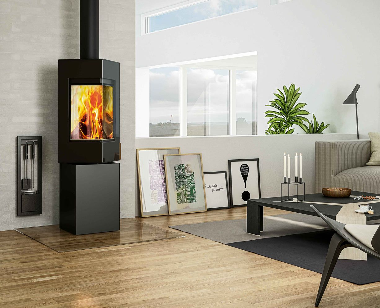 Rais Q-Be Wood Burning Stove From Fireplace Products