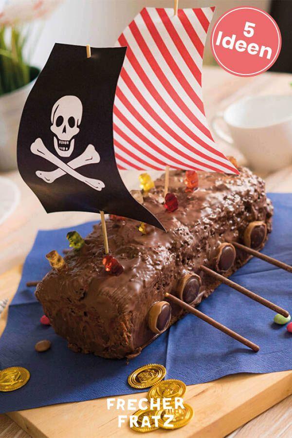5 Ideen für den Piraten Geburtstag