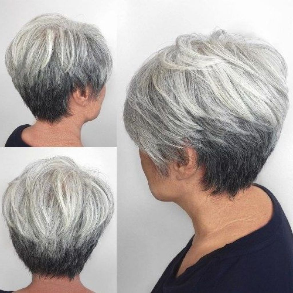 a symetrical hairstyles women all through 50