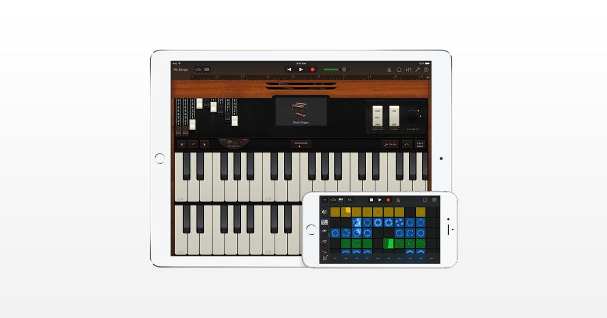 GarageBand for iOS is the most popular music creation app